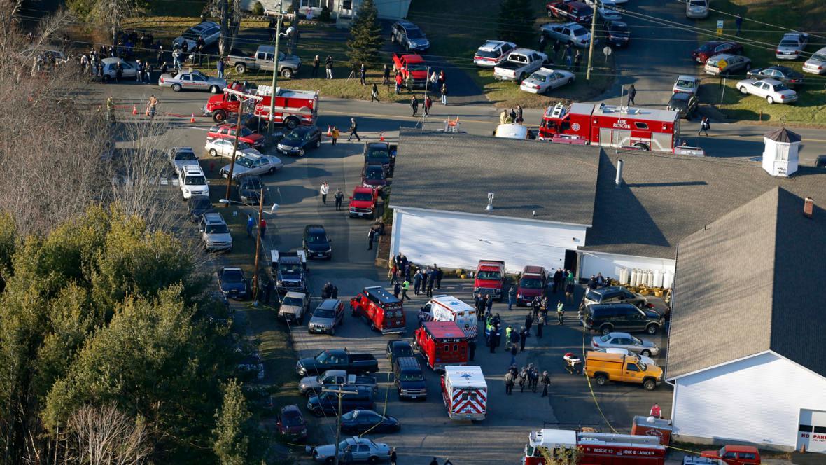 Střelba ve škole v Newtownu