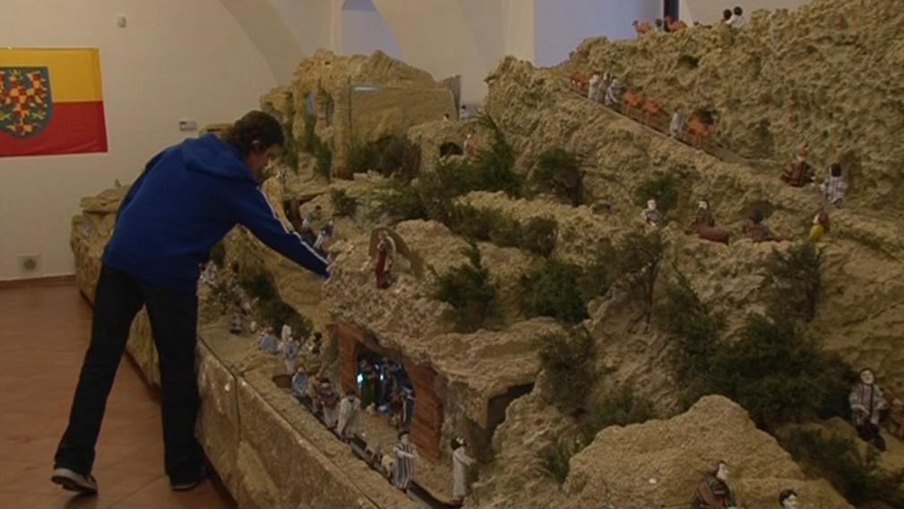Model Moravské vesničky s betlémem se dál rozrůstá