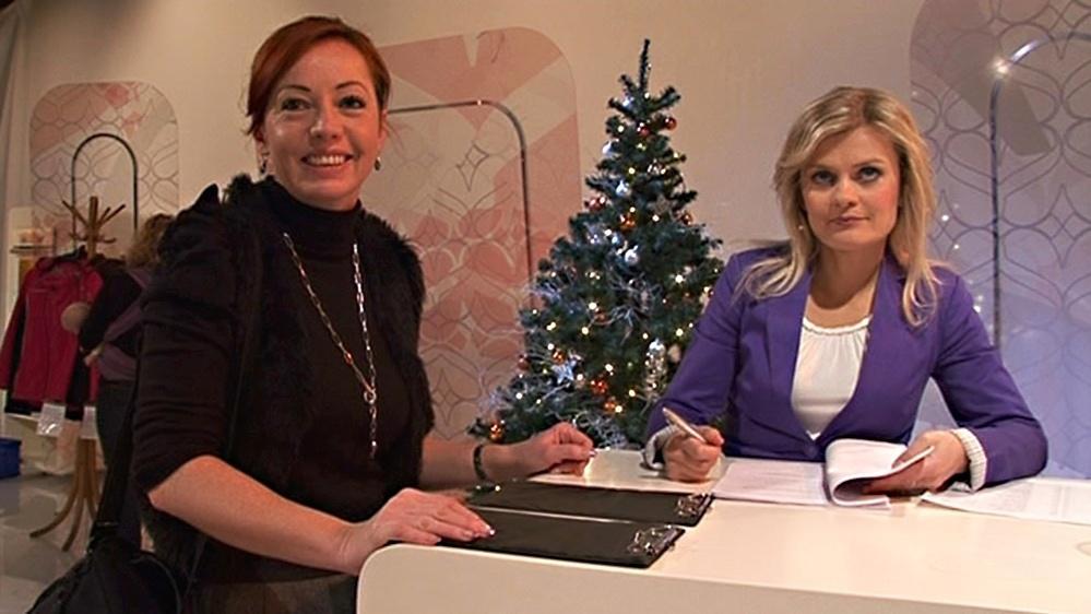 Sama doma - dramaturgyně Petra Špičková a moderátorka Tereza Stýblová