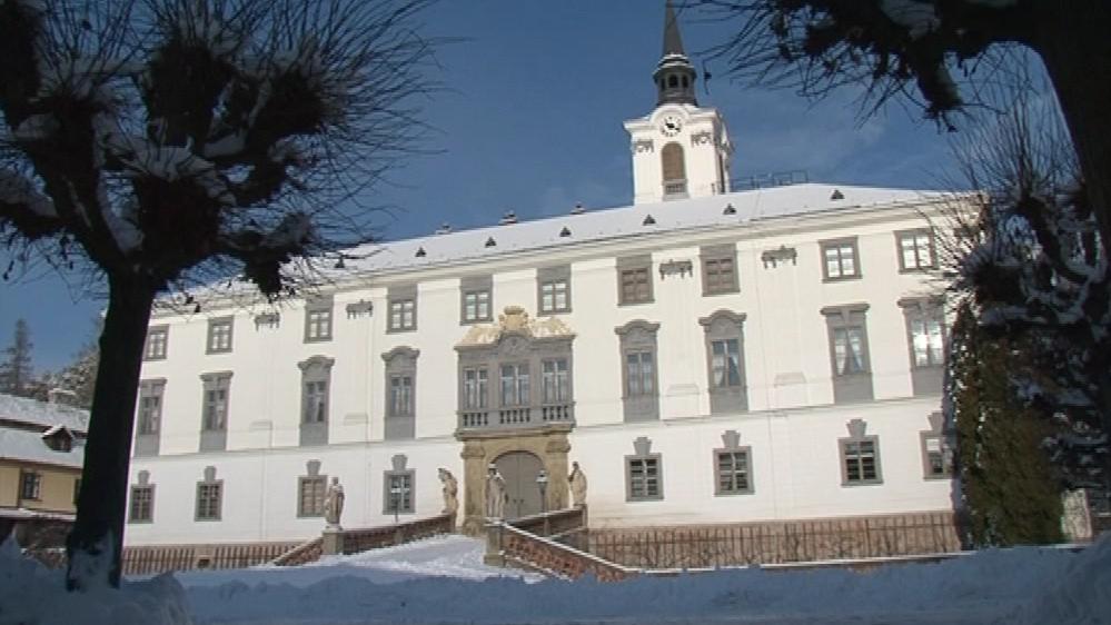Dřevomorka se na lysickém zámku objevila letos na jaře
