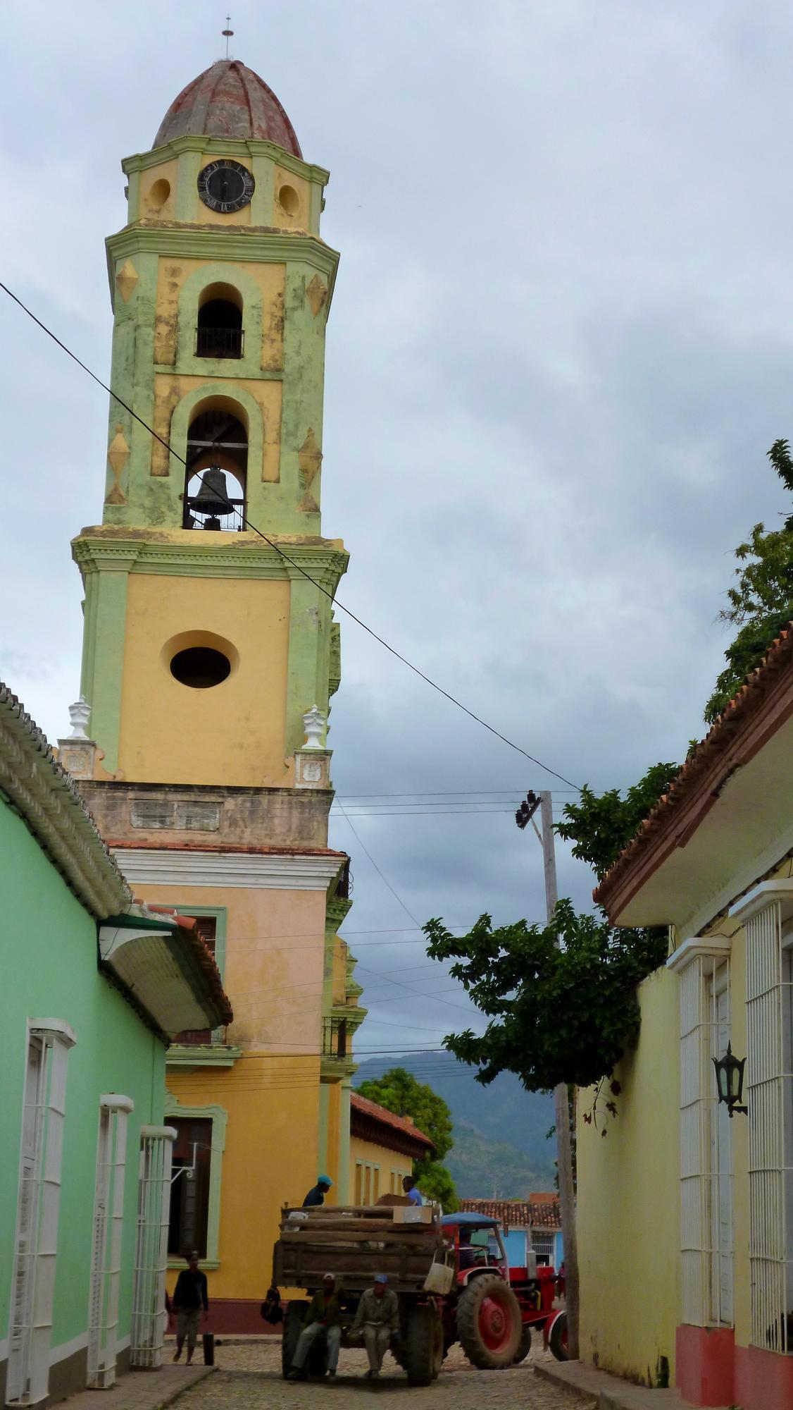 Věž františkánského kláštera