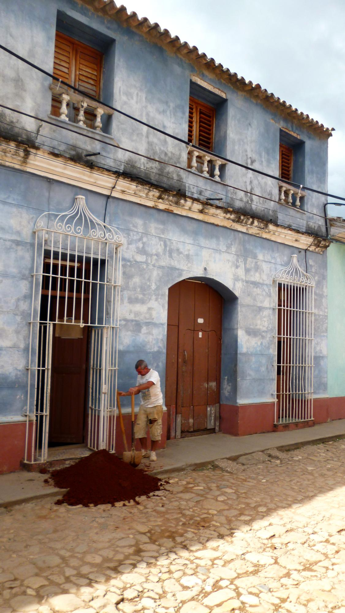 Typický trinidadský dům