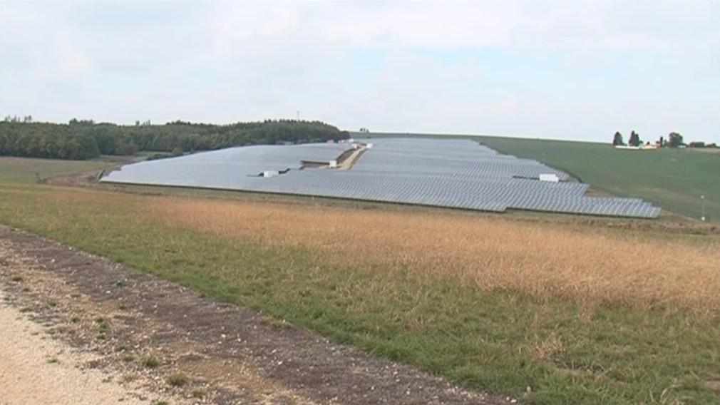 Solární elektrárna ve Vranovské vsi