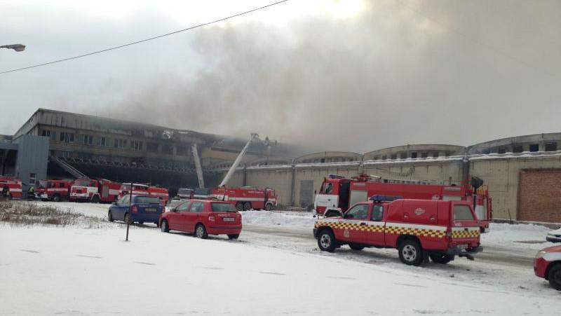 Požár v Mochově
