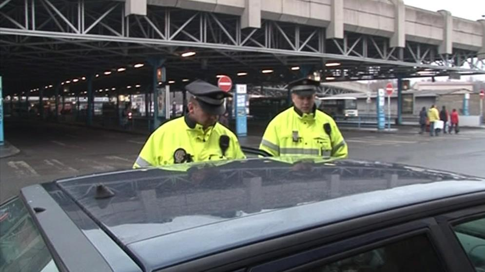 Strážníci Městské policie Brno
