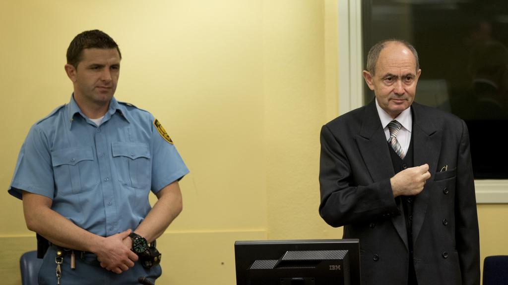 Zdravko Tolimir před ICTY