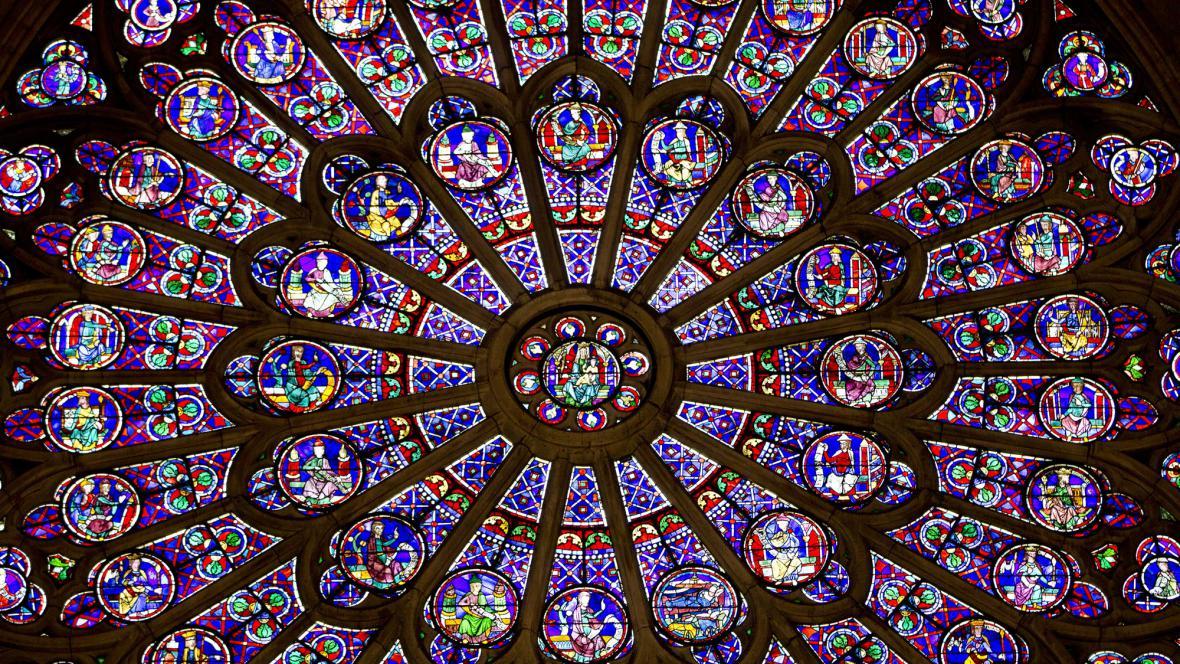Okno Notre-Dame