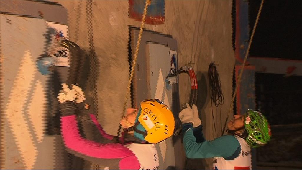 Angelika Rainerová a Barbara Zwergerová jsou tréninkové partnerky