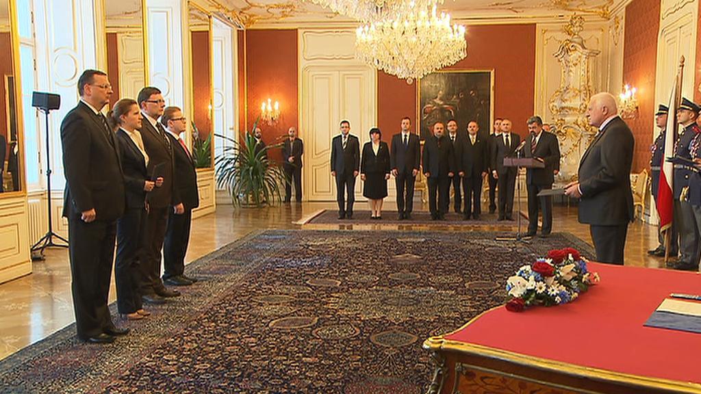 Prezident jmenoval nové ministry