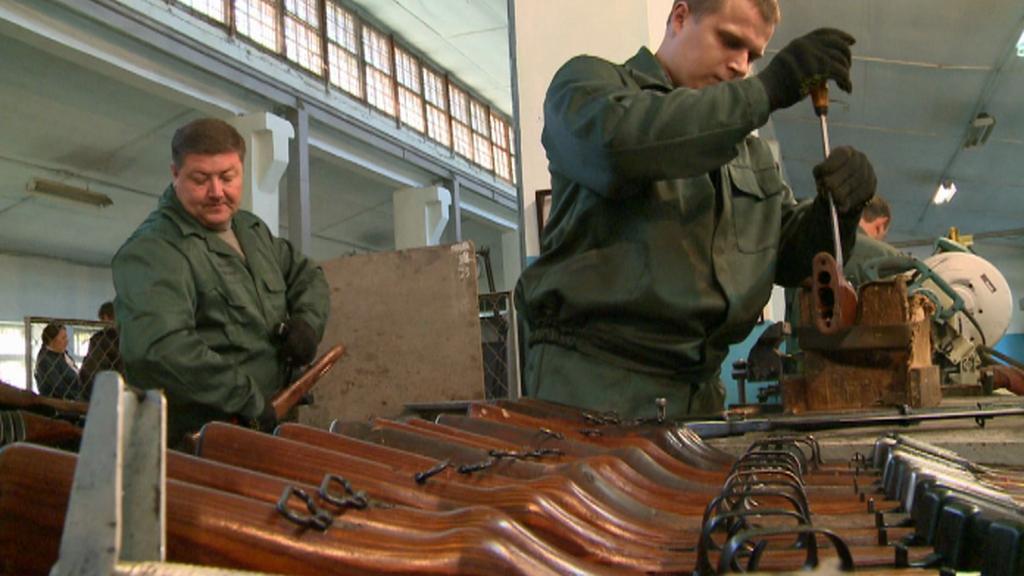 Likvidace zbraní a munice na Ukrajině
