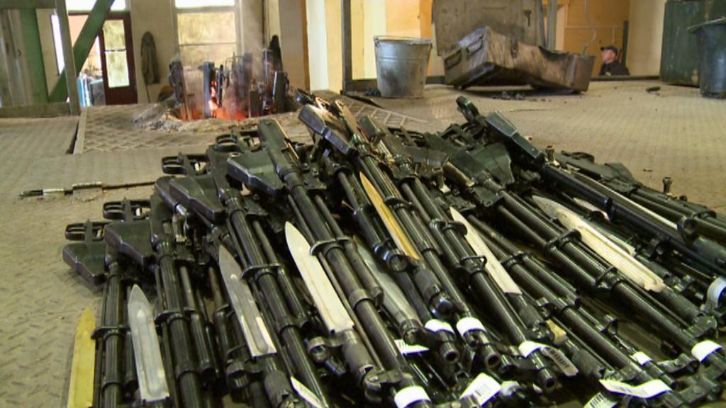 Likvidace zbraní a munice