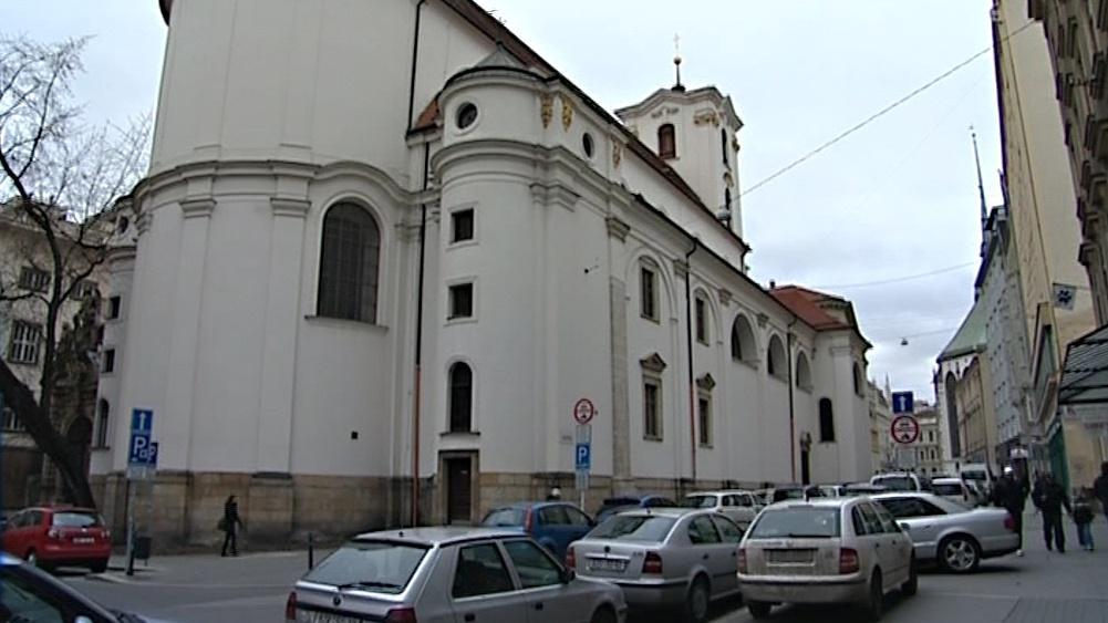 """Kostel """"U jezuitů"""" v Brně"""