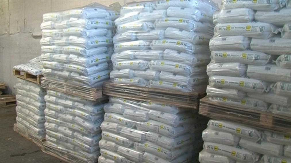 Některé obce mají stále velké zásoby posypové soli