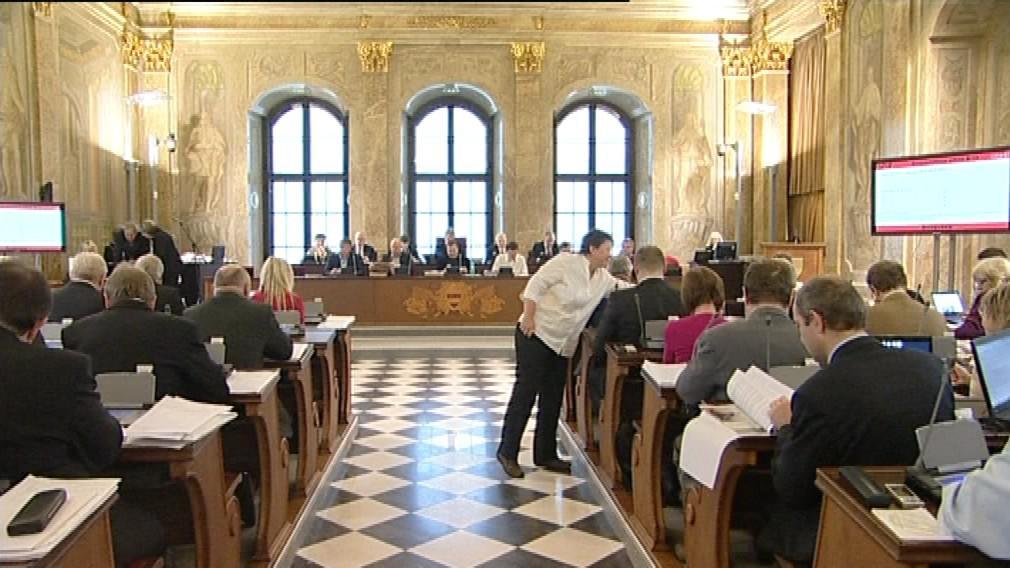 Jednání brněnského zastupitelstva
