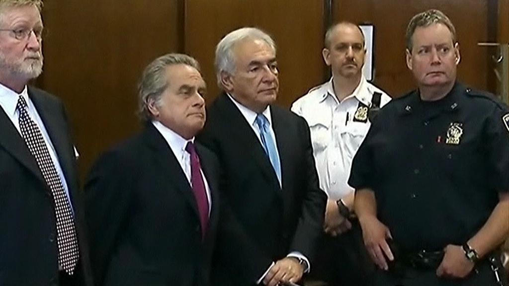 Strauss-Kahn před soudem