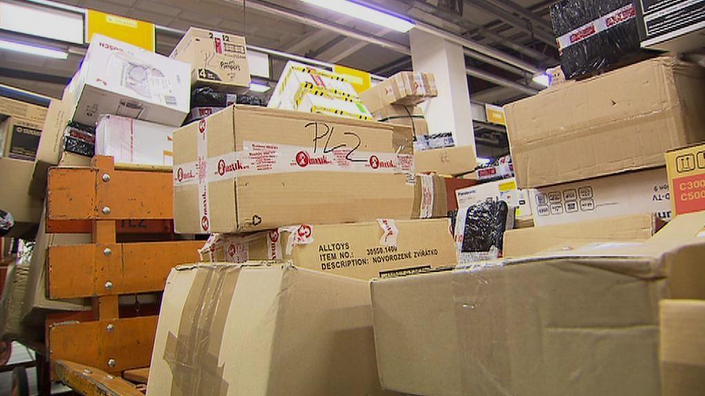 Doručované balíky