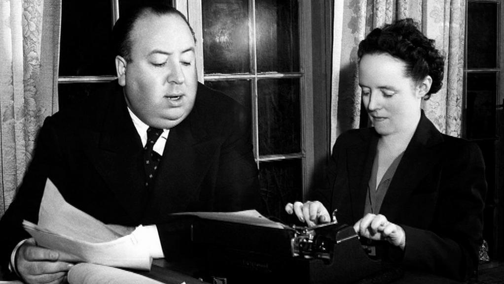 Alfred Hitchcock a jeho žena Alma Revilleová
