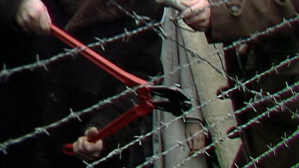 Přestřihávání drátů na hranicích