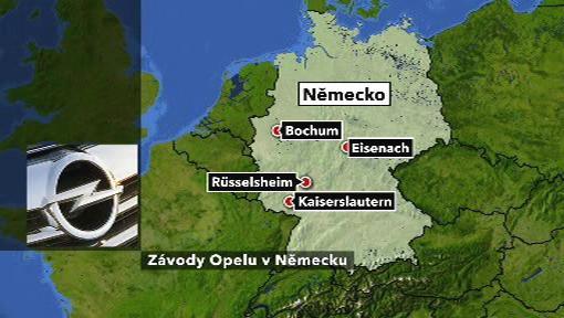 Závody Opelu v Německu