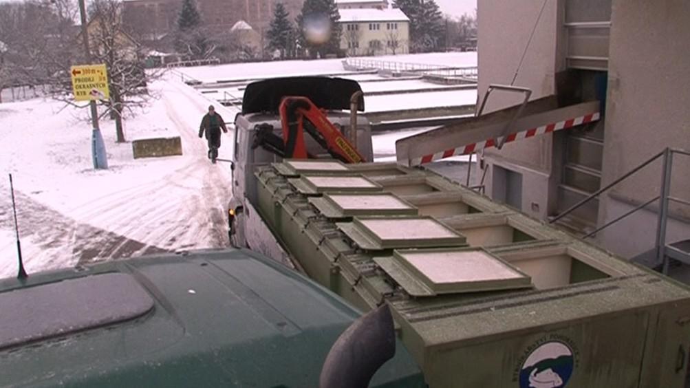Týden před Vánocemi odjede z Pohořelic až 40 kamionů