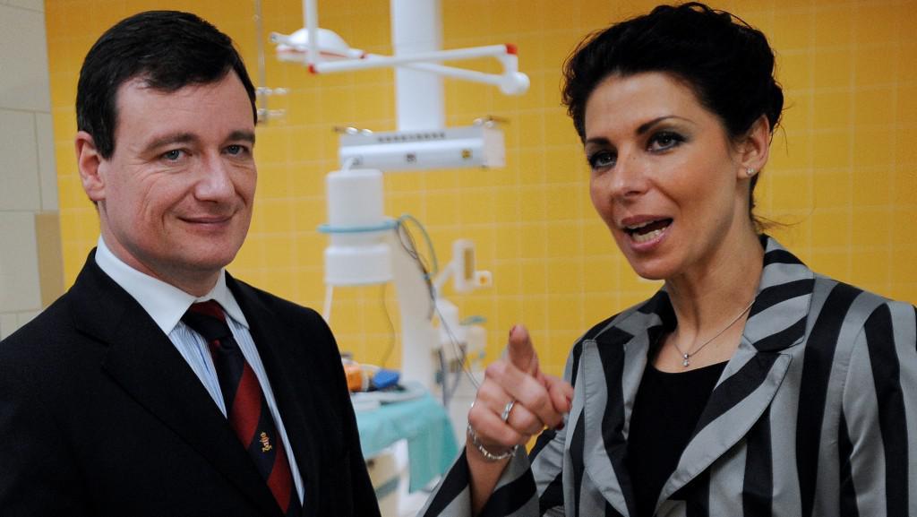 David Rath a Kateřina Pancová