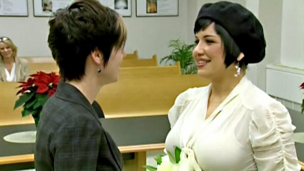 Svatba homosexuálního páru ve Washingtonu