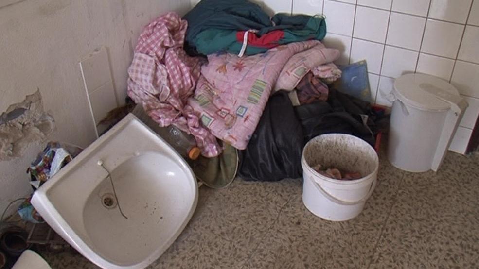 V objektu přebývají lidé bez domova