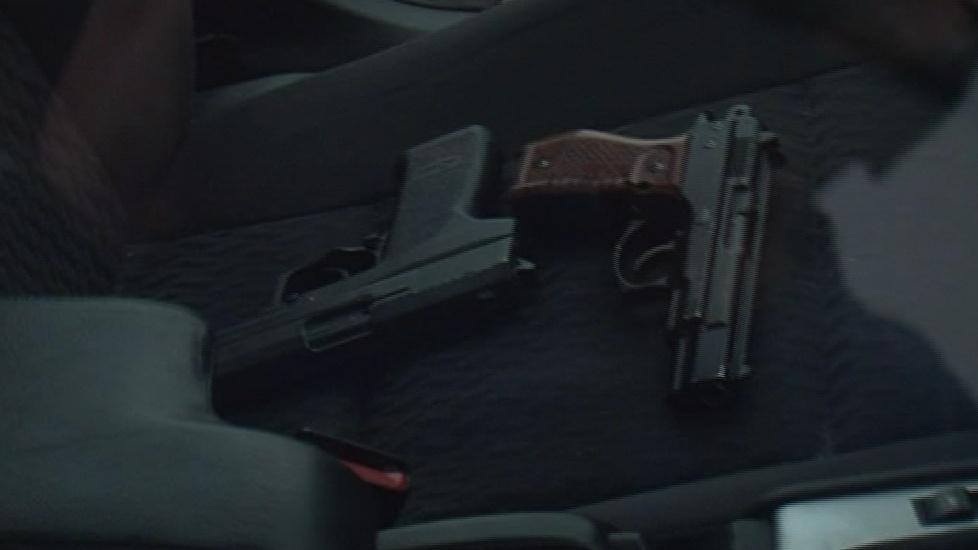 Zadržené pistole