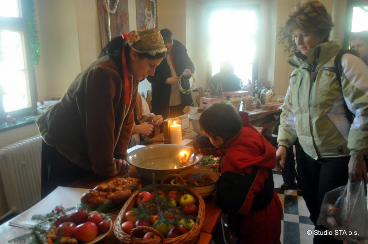 Vánoce na zámečku ve Vrbně pod Pradědem