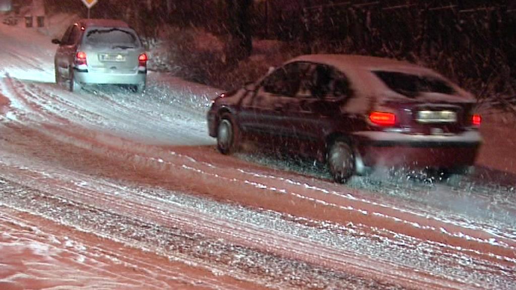 Česko zasypal sníh