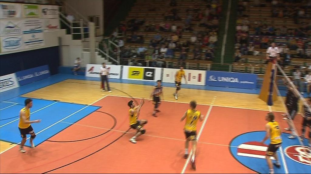 V uplynulé sezoně došli volejbalisté Brna až do play-off