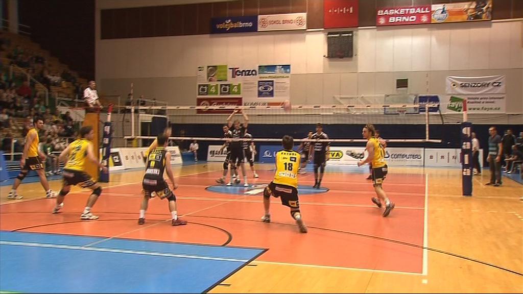 V letošním ročníku chtějí brněnští volejbalisté skončit v první pětce