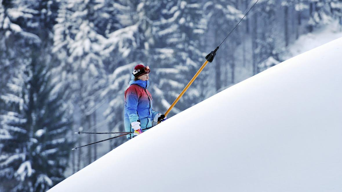 Lyžování na českých horách