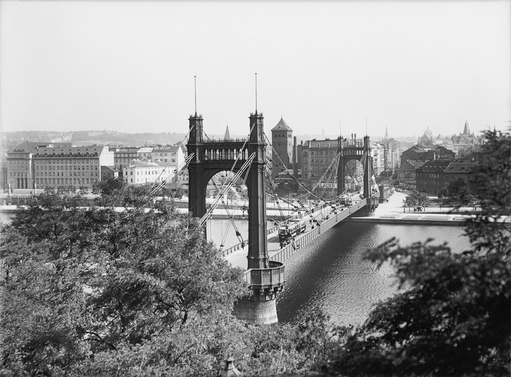 Jaroslav Brunner-Dvořák / Štefánikův most, 1928