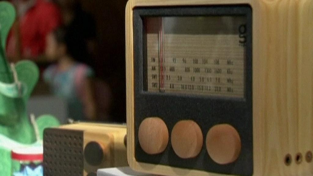 Dřevěné rádio