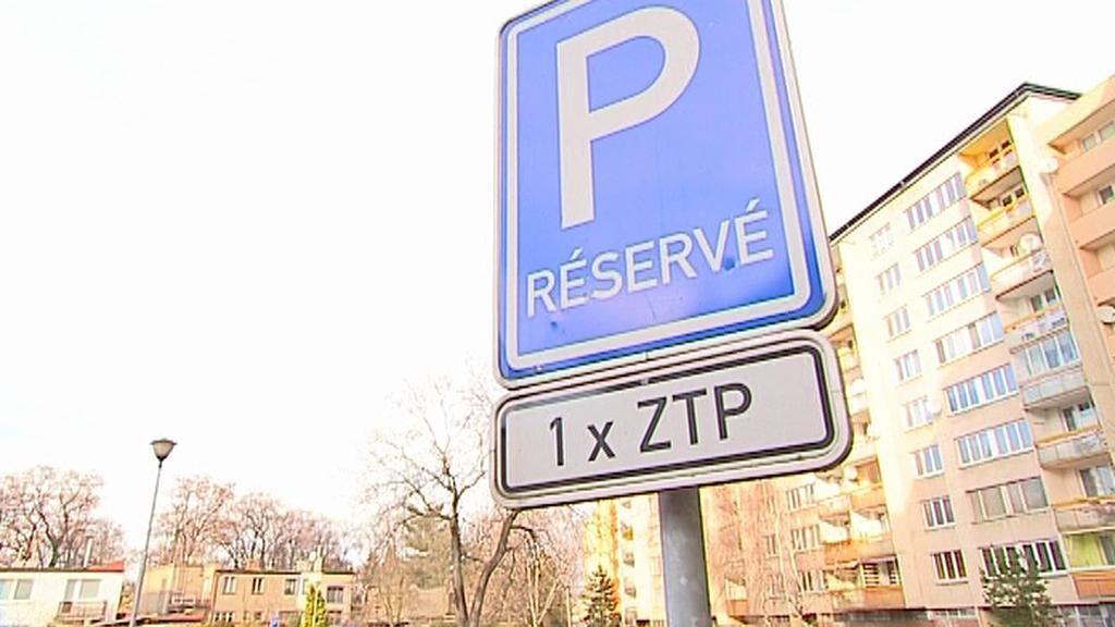 Vyhrazené parkovací místo