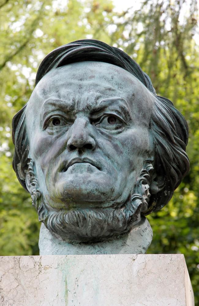 Busta Richarda Wagnera v Bayreuthu