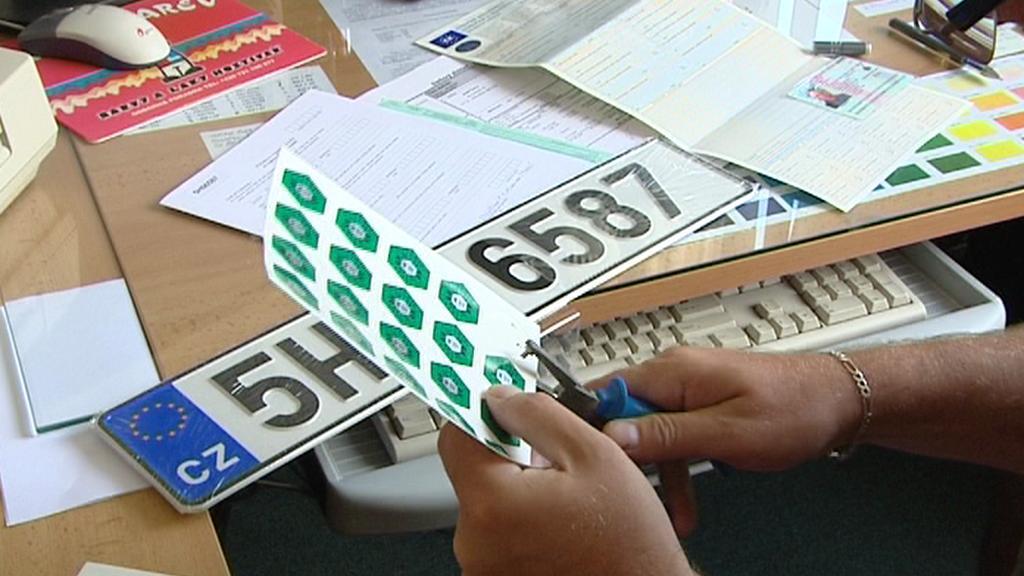 Registrační značka vozidla