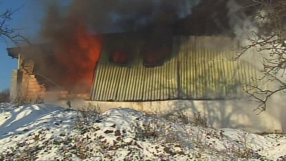 Požár v Lulči