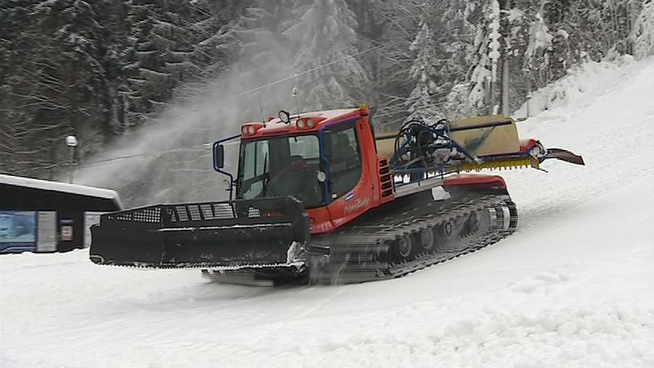 Na Zlínsku se už chystají na první lyžaře
