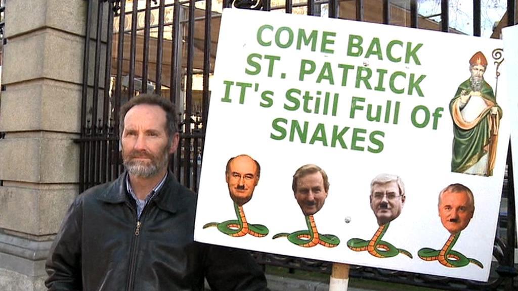 Protesty v Irsku