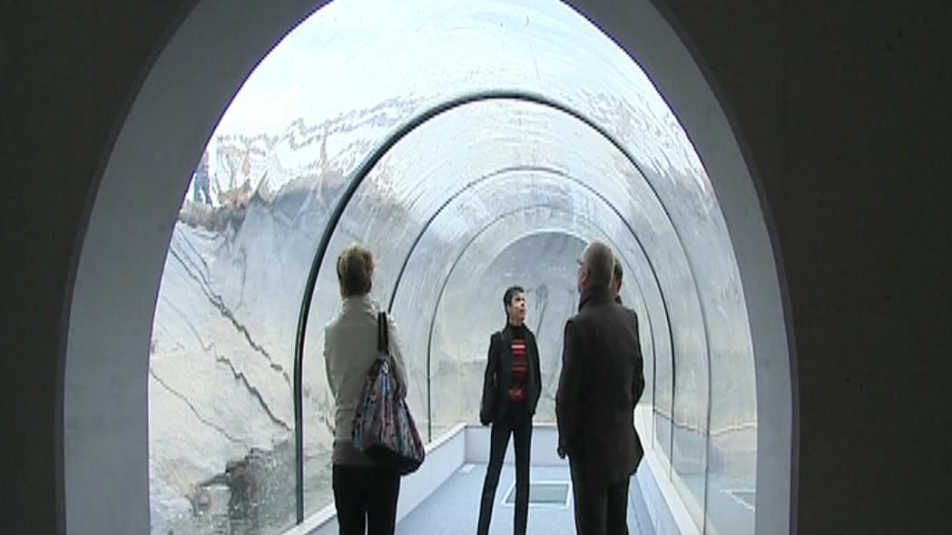Tunel umožní zájemcům prohlédnout si přímo dno rybníka