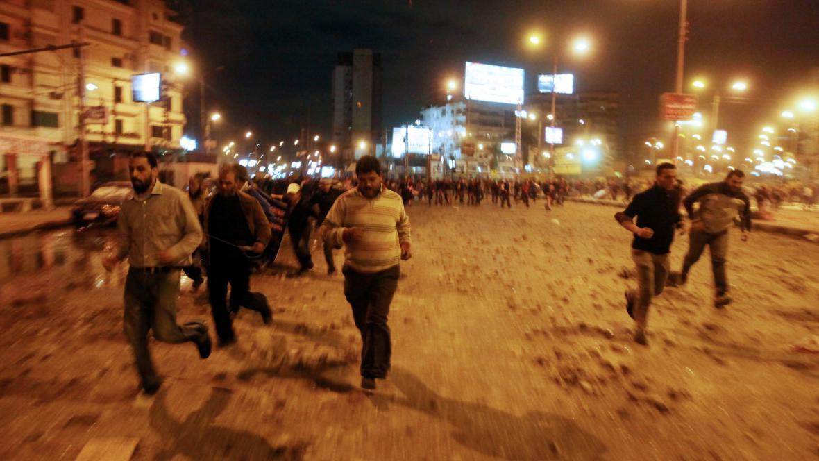 Střety v Káhiře