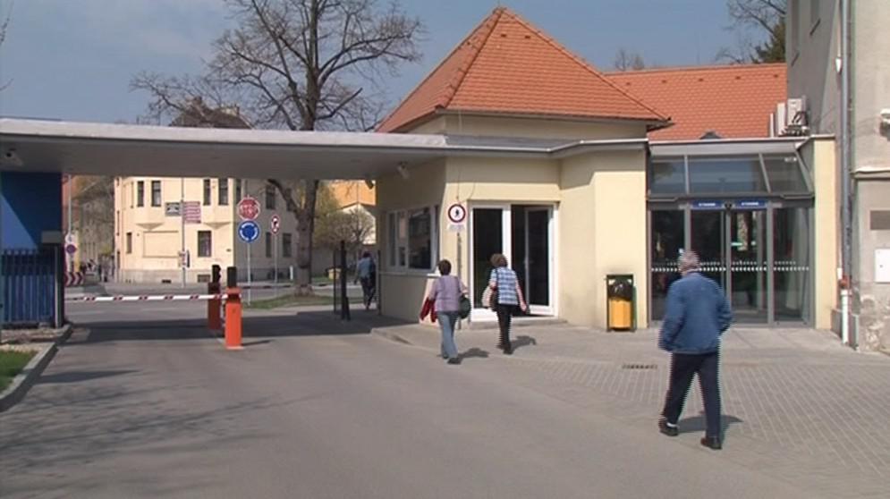 Vstup do Psychiatrické léčebny Brno