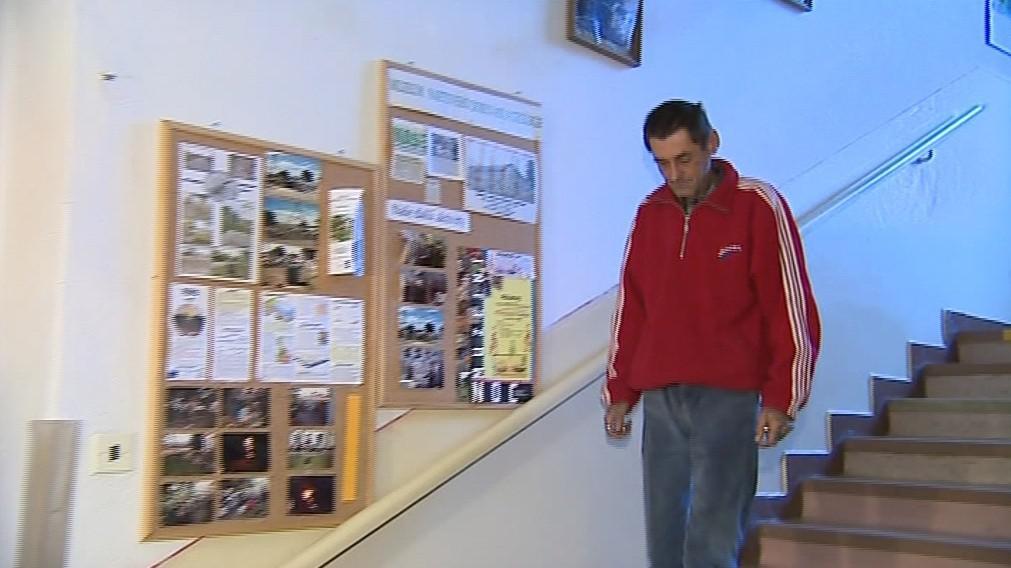 Pavel Hřibňák dnes žije v hodonínské ubytovně