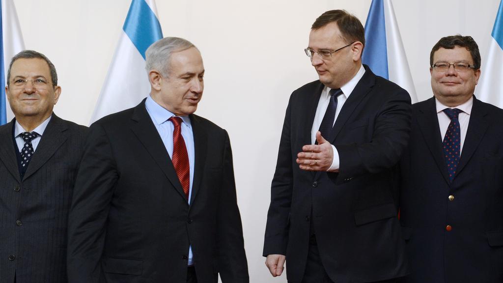 Benjamin Netanjahu v Praze