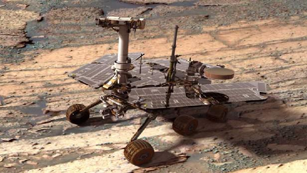 Vozítko Opportunity na Marsu