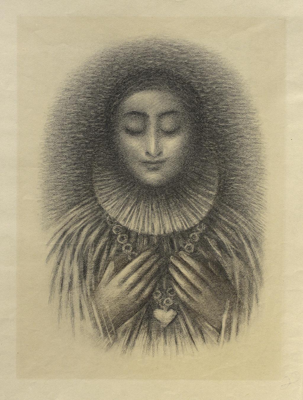 Jan Zrzavý / ilustrace k Shakespearovým Sonetům, 1952
