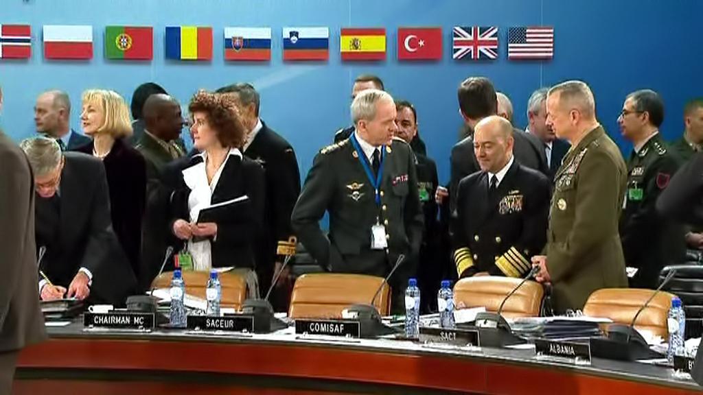 Zasedání ministrů NATO