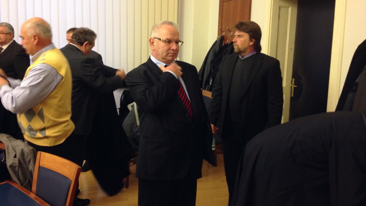 Vladimír Krejčíř před soudem